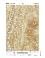 Burke Mountain Vermont Current topographic map, 1:24000 scale, 7.5 X 7.5 Minute, Year 2015 from Vermont Map Store