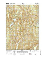 Cabot Vermont Current topographic map, 1:24000 scale, 7.5 X 7.5 Minute, Year 2015 from Vermont Map Store