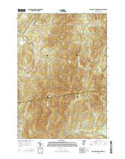 Cold Hollow Mountains Vermont Current topographic map, 1:24000 scale, 7.5 X 7.5 Minute, Year 2015 from Vermont Maps Store