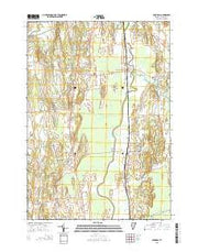 Cornwall Vermont Current topographic map, 1:24000 scale, 7.5 X 7.5 Minute, Year 2015 from Vermont Maps Store