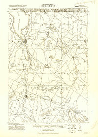 Derby Vermont Historical topographic map, 1:62500 scale, 15 X 15 Minute, Year 1920