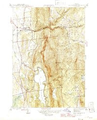East Middlebury Vermont Historical topographic map, 1:31680 scale, 7.5 X 7.5 Minute, Year 1946