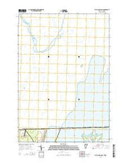 East Alburg OE N Vermont Current topographic map, 1:24000 scale, 7.5 X 7.5 Minute, Year 2015 from Vermont Maps Store