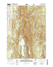 East Middlebury Vermont Current topographic map, 1:24000 scale, 7.5 X 7.5 Minute, Year 2015 from Vermont Maps Store