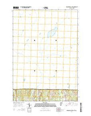Enosburg Falls OE N Vermont Current topographic map, 1:24000 scale, 7.5 X 7.5 Minute, Year 2015 from Vermont Maps Store