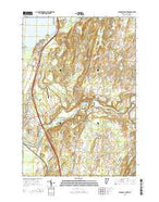 Highgate Center Vermont Current topographic map, 1:24000 scale, 7.5 X 7.5 Minute, Year 2015 from Vermont Map Store