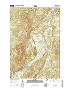 Irasburg Vermont Current topographic map, 1:24000 scale, 7.5 X 7.5 Minute, Year 2015 from Vermont Map Store