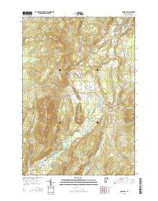 Irasburg Vermont Current topographic map, 1:24000 scale, 7.5 X 7.5 Minute, Year 2015