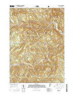 Jamaica Vermont Current topographic map, 1:24000 scale, 7.5 X 7.5 Minute, Year 2015 from Vermont Map Store