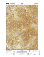 Jay Peak Vermont Current topographic map, 1:24000 scale, 7.5 X 7.5 Minute, Year 2015 from Vermont Map Store