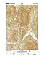 Jeffersonville Vermont Current topographic map, 1:24000 scale, 7.5 X 7.5 Minute, Year 2015 from Vermont Map Store