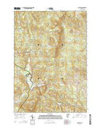 Joes Pond Vermont Current topographic map, 1:24000 scale, 7.5 X 7.5 Minute, Year 2015 from Vermont Map Store