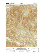 Johnson Vermont Current topographic map, 1:24000 scale, 7.5 X 7.5 Minute, Year 2015 from Vermont Maps Store