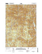 Killington Peak Vermont Current topographic map, 1:24000 scale, 7.5 X 7.5 Minute, Year 2015 from Vermont Map Store
