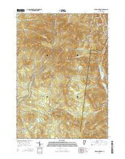 Killington Peak Vermont Current topographic map, 1:24000 scale, 7.5 X 7.5 Minute, Year 2015 from Vermont Maps Store