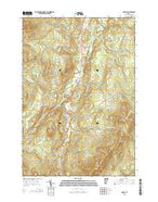 Lowell Vermont Current topographic map, 1:24000 scale, 7.5 X 7.5 Minute, Year 2015 from Vermont Map Store