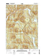 Marshfield Vermont Current topographic map, 1:24000 scale, 7.5 X 7.5 Minute, Year 2015 from Vermont Map Store