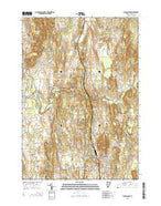 Middlebury Vermont Current topographic map, 1:24000 scale, 7.5 X 7.5 Minute, Year 2015 from Vermont Map Store