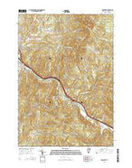 Middlesex Vermont Current topographic map, 1:24000 scale, 7.5 X 7.5 Minute, Year 2015 from Vermont Map Store
