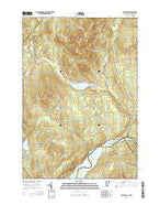 Miles Pond Vermont Current topographic map, 1:24000 scale, 7.5 X 7.5 Minute, Year 2015 from Vermont Map Store