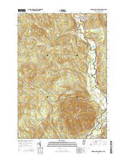 Monadnock Mountain Vermont Current topographic map, 1:24000 scale, 7.5 X 7.5 Minute, Year 2015 from Vermont Maps Store