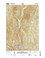 Montpelier Vermont Current topographic map, 1:24000 scale, 7.5 X 7.5 Minute, Year 2015 from Vermont Maps Store