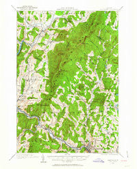 Montpelier Vermont Historical topographic map, 1:62500 scale, 15 X 15 Minute, Year 1919