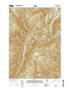 Newfane Vermont Current topographic map, 1:24000 scale, 7.5 X 7.5 Minute, Year 2015 from Vermont Map Store