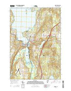 Newport Vermont Current topographic map, 1:24000 scale, 7.5 X 7.5 Minute, Year 2015 from Vermont Map Store