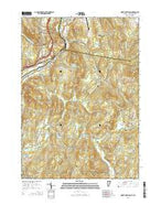 North Hartland Vermont Current topographic map, 1:24000 scale, 7.5 X 7.5 Minute, Year 2015 from Vermont Map Store