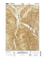 North Pownal Vermont Current topographic map, 1:24000 scale, 7.5 X 7.5 Minute, Year 2015 from Vermont Map Store