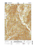 Pawlet Vermont Current topographic map, 1:24000 scale, 7.5 X 7.5 Minute, Year 2015 from Vermont Map Store