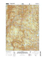 Peru Vermont Current topographic map, 1:24000 scale, 7.5 X 7.5 Minute, Year 2015 from Vermont Map Store