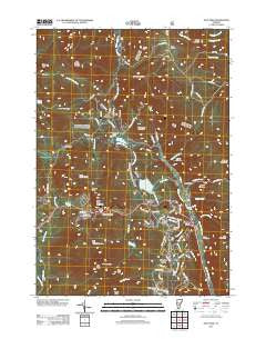 Pico Peak Vermont Historical topographic map, 1:24000 scale, 7.5 X 7.5 Minute, Year 2012