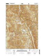 Pico Peak Vermont Current topographic map, 1:24000 scale, 7.5 X 7.5 Minute, Year 2015 from Vermont Map Store