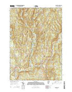 Plainfield Vermont Current topographic map, 1:24000 scale, 7.5 X 7.5 Minute, Year 2015 from Vermont Map Store