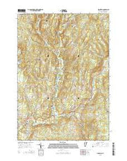 Plainfield Vermont Current topographic map, 1:24000 scale, 7.5 X 7.5 Minute, Year 2015 from Vermont Maps Store