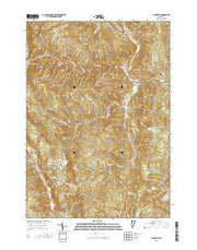 Plymouth Vermont Current topographic map, 1:24000 scale, 7.5 X 7.5 Minute, Year 2015 from Vermont Maps Store
