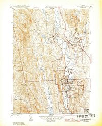 Proctor Vermont Historical topographic map, 1:31680 scale, 7.5 X 7.5 Minute, Year 1946