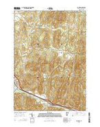 Richmond Vermont Current topographic map, 1:24000 scale, 7.5 X 7.5 Minute, Year 2015 from Vermont Map Store