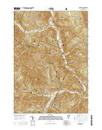 Rochester Vermont Current topographic map, 1:24000 scale, 7.5 X 7.5 Minute, Year 2015 from Vermont Map Store