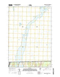 Rouses Point OE N Vermont Current topographic map, 1:24000 scale, 7.5 X 7.5 Minute, Year 2015