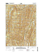 Roxbury Vermont Current topographic map, 1:24000 scale, 7.5 X 7.5 Minute, Year 2015 from Vermont Map Store