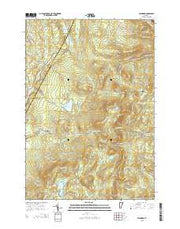 Stannard Vermont Current topographic map, 1:24000 scale, 7.5 X 7.5 Minute, Year 2015 from Vermont Maps Store