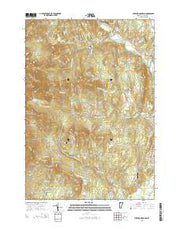 Sterling Mountain Vermont Current topographic map, 1:24000 scale, 7.5 X 7.5 Minute, Year 2015 from Vermont Maps Store