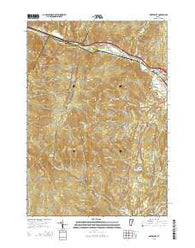 Waterbury Vermont Current topographic map, 1:24000 scale, 7.5 X 7.5 Minute, Year 2015