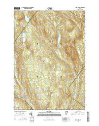 West Burke Vermont Current topographic map, 1:24000 scale, 7.5 X 7.5 Minute, Year 2015