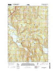 West Charleston Vermont Current topographic map, 1:24000 scale, 7.5 X 7.5 Minute, Year 2015