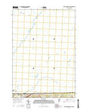 West Charleston OE N Vermont Current topographic map, 1:24000 scale, 7.5 X 7.5 Minute, Year 2015 from Vermont Maps Store