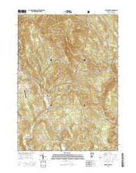 West Dover Vermont Current topographic map, 1:24000 scale, 7.5 X 7.5 Minute, Year 2015